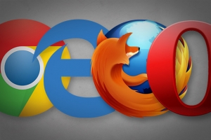 Chrome, Edge, Firefox e Opera